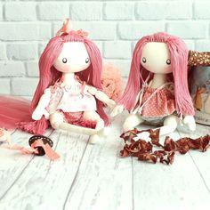 Cute dolls in etsy shop DollsLittleAngels #cutedolls #clothdolls #bestgift #girlgift
