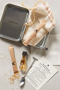 anthropologie: the carry-on cocktail kit. $24.00