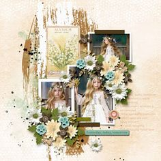 Layout Template, Templates, Digital Scrapbooking Layouts, The Past, Deviantart, Table Decorations, Spring, Frame, Design