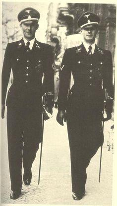 SS Murderers. Ss uniforms were designed by Boss.