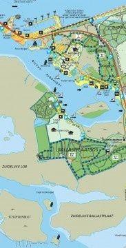 wandelkaart lauwersmeer