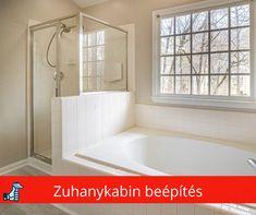 Zuhanykabin beépítés házilag. Erre figyelj, hogy biztos legyen a siker. Corner Bathtub, Plumbing, Alcove, Bathroom, Website, Washroom, Full Bath, Bath, Bathrooms