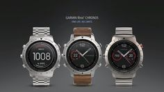 Garmin's pricey Fenix Chronos smartwatch targets the outdoor set  [embedded content]       Garmin is found three high-end smartwatches that bunch in several task monitoring characteristics with a high end appearance for people who desire something beyond some of the arguably mundane appearing smartwatches views out there.    The   Fenix Chronos   is directly in the high-end class, with a $ 1,499 price tag for the most high end titanium version. By the appearances of the layout and ov..