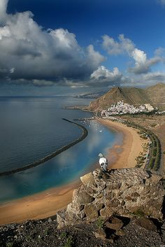 Playa de Las Teresitas. Tenerife, Canary Islands. Spain