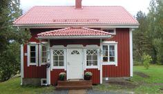 Swedish Cottage, Old Doors, Old Houses, Home Remodeling, Landscape Design, Sweet Home, Castle, Villa, Farmhouse