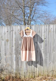 Womens Tunic in Sepia/Boro Patch Tunic by RebirthRecycling on Etsy, $55.00