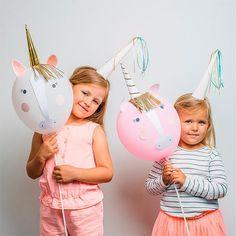 Kit DIY globos unicornio / 4 uds. - La Fiesta de Olivia - 1
