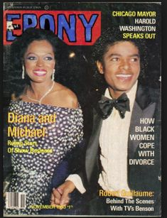 Diana Ross and Michael Jackson Ebony magazine covers Jet Magazine, Black Magazine, Life Magazine, The Jackson Five, Jackson Family, Michael Jackson, Paris Jackson, Old Magazines, Vintage Magazines