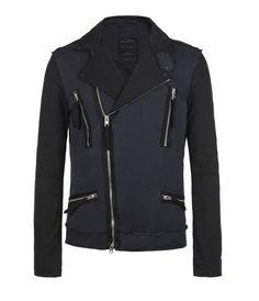 Hakusan Biker Jacket, Men, New, AllSaints Spitalfields