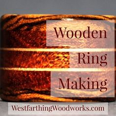 These are my 9 ways to make better wooden rings. It focuses on the materials you already have, and will teach you how to use them differently to make rings that stand out from the crowd. This is a long one, enjoy the post, and happy building.