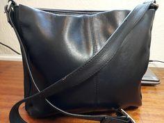 Womens/Girls Black Genuine Leather soft Shoulder Bag  #Unbranded Satchel Backpack, Leather Backpack, Leather Bag, School Bags For Girls, Girls Bags, Girl Backpacks, Small Shoulder Bag, Leather Handbags