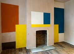 ernst caramelle's fab painted walls - Improvised Life