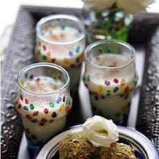Refreshing Moroccan style Almond Milk infused w/Orange Blossom Water & Cinnamon