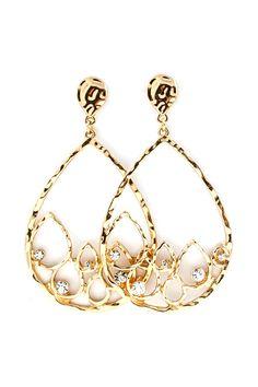 Crystal Rain Teardrop Earrings | Awesome Selection of Chic Fashion Jewelry | Emma Stine Limited