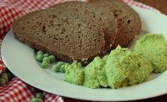 Groene erwtendip, broodsmeersel