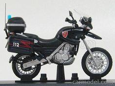 EDICOLA C038 Scale 1/24  BMW F650 GS CARABINIERI 1999 - MOTORCYCLE BLUE