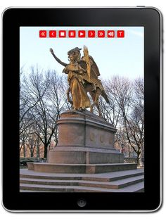 On your iPad you can tour all of Central Park for only 2.99$ - www.museumplanet.com