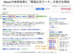 Yahoo!検索結果「関連広告ワード」から売れるキーワード抽出 http://yokotashurin.com/seo/related-advertising-word.html