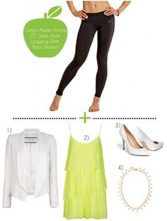 How To Dress Up Yoga Pants- Summer Style Edition