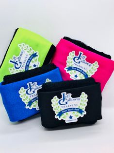 """JG sQoosh Bands Only $11 !!! Think you don't need one? Here's a recent review: ★★★★★ """"The BEST sweatband I've ever purchased. No more contorting you arm to wipe face w/ the back of your wrist. It's comfortable & can be worn on the wrist or hand. I ordered multiples!"""" Jeff Galloway, Walk Run, Christmas Trends, Coin Purse, Walking, Running, Bands, Arm, Arms"""