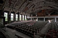 I want to live in an abandoned theater