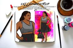 Illustrated Fashion Tour Featuring