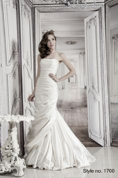 #pnina_tornai #bridal dress style no. 1700 front