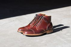 Viberg Service Boot Colour 4 Shell Cordovan. Photo and Initial Impressions by /u/icsmurfs @ /r/goodyearwelt