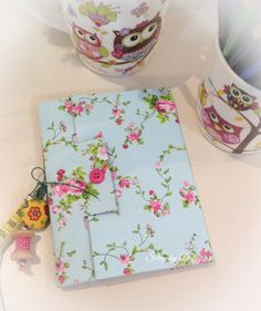 Sketchbook feito em tecido