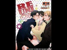 Reunited- Attack on Titan Levi & Erwin x Eren Doujinshi (R18) - YouTube