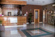 Recepción Hotel ATH Al-Medina Wellness 4 estrellas en Medina-Sidonia, Cádiz, España.
