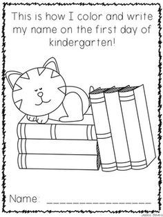 1000 images about inapoi la scoala pagini de colorat on for Pre k first day of school coloring pages