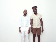 Mos Def Yasiin Bey | Yasiin Bey and Joshua Kissi in my studio.