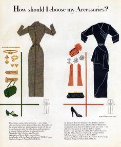 How should I choose my Accessories? Simplicity Pattern Book - Fall 1949
