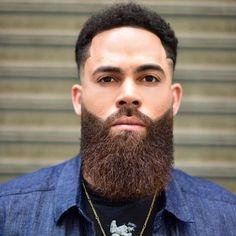 Black Bearded Men