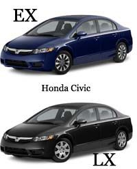 Diferencia Entre Honda Civic Lx Y Ex Civic Lx Honda Civic Honda Civic 2016