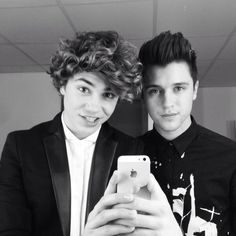George Shelley and JJ Hamblett // Union J. Happy birthday to me and George!!!