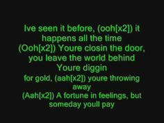 Foreigner - Cold as Ice with lyrics