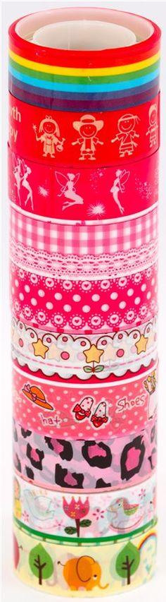 t 25 con 10 cintas adhesivas decorativas kaw