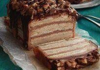 Snickers Cake - Recipe - The Answer is Cake