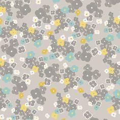 Tissu Art Gallery Fabrics Chromatics Love Notes Watercolor Urban x10cm