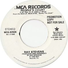 Ray Stevens - MCA Records #MCA-52924