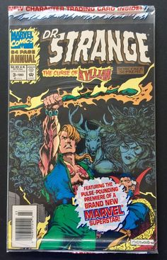 DR Strange Sorcerer Supreme ANNUAL #3 DC Comic Sealed NEW w Kyllian Trade card | Collectibles, Comics, Modern Age (1992-Now) | eBay!