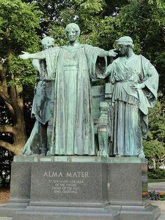 Alma Mater by Lorado Taft, on the campus of the University of Illinois at Urbana-Champaign.
