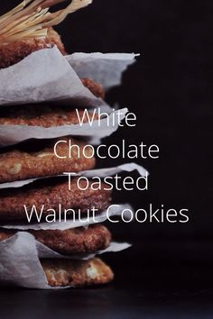 Toasted Walnut Cookies - Check out my story on Steller