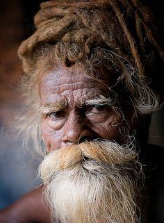 8 x 10 A portrait of a hindu sadhu by MomentoPhotography on Etsy, $20.00