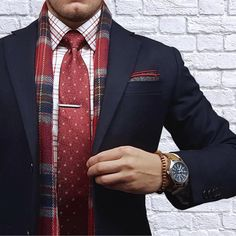 Like a gentleman men suit #tie #mensuit brought to you by Tom Maslanka