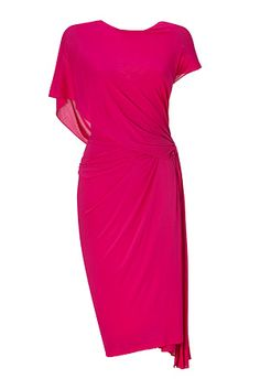 Donna Karen pleated dress