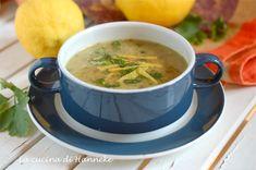 Una gustosa zuppetta di ceci e prezzemolo al limone, un primo nutriente, ma allo stesso tempo leggero!
