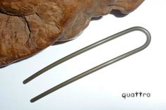 Hair Fork by Quattro - StarLites Charcoal Matte BETA by quattro on Etsy